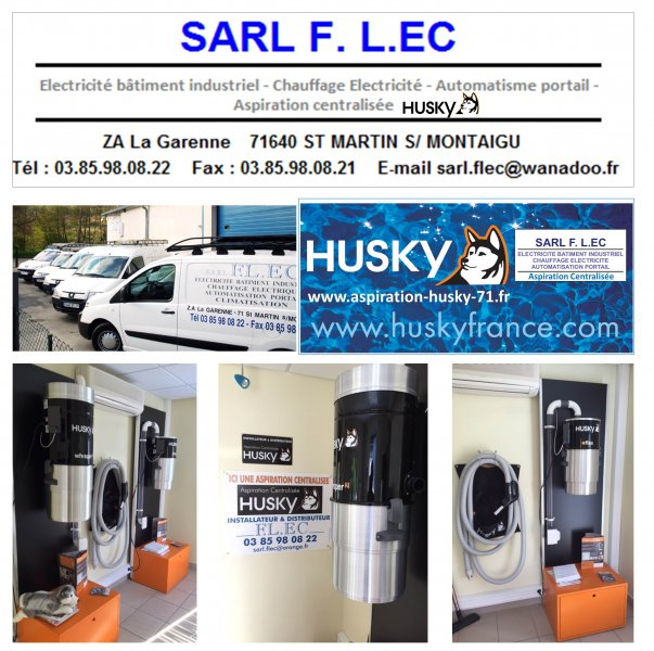 Show Room Aspiration Centralisée 71 Husky Flec Sarl